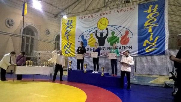 Марина Меднікова нагороджена золотою медаллю на Всеукраїнському турнірі з хортингу, що проходив у м. Києві 11-13/12/2015 р.